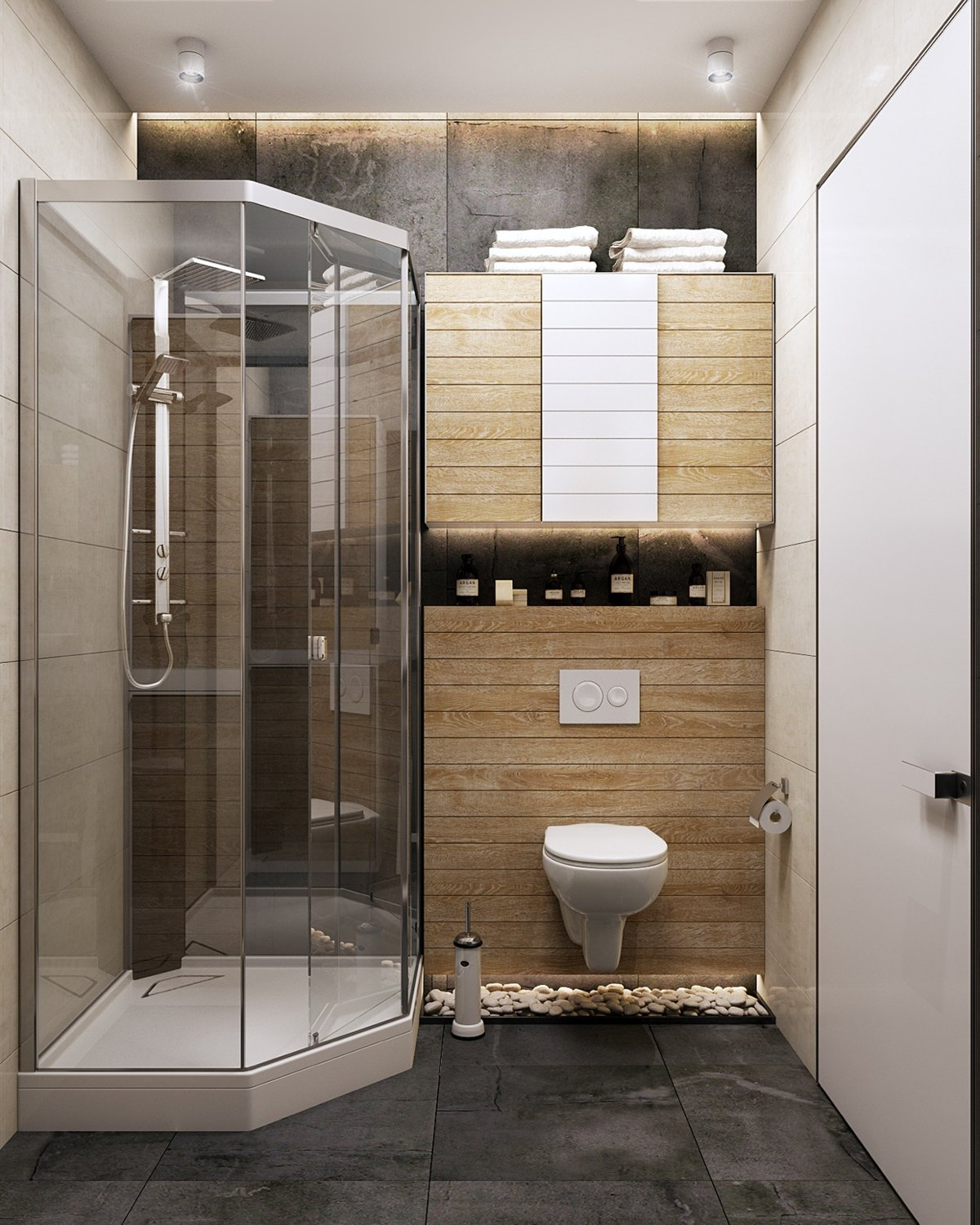 Chic Modern  Eclectic Spaces - Eclectic bathroom designs