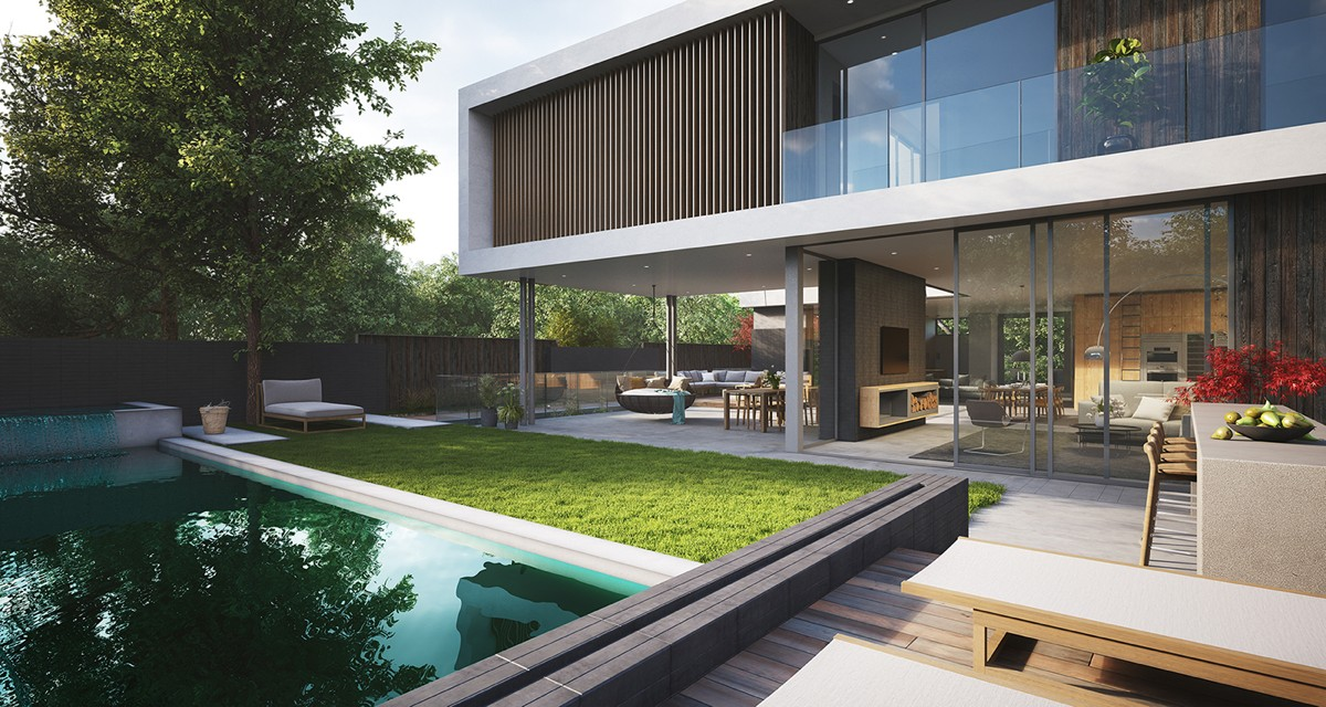4 Modern Villas That Embrace Indoor Outdoor Living