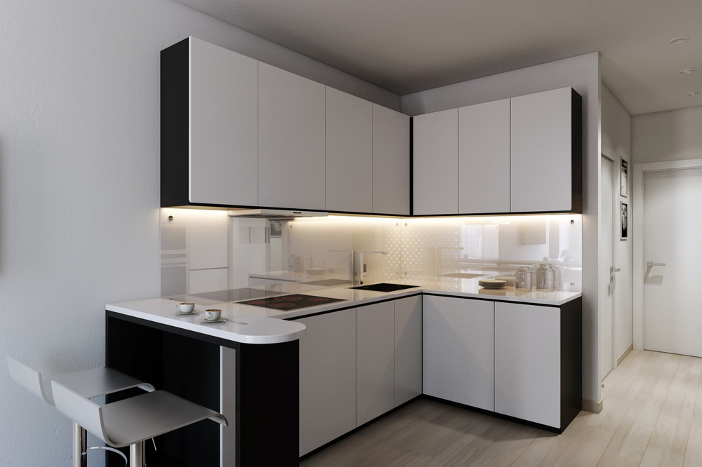 4 small apartments showcase the flexibility of compact design for Kitchen interior designs for small spaces
