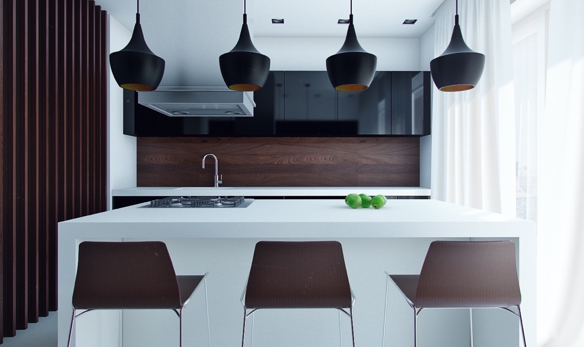 50 unique kitchen pendant lights you can buy right now - Black Kitchen Lights