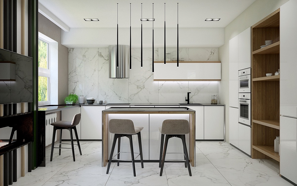 50 unique kitchen pendant lights you can buy right now for Suspension luminaire pour cuisine