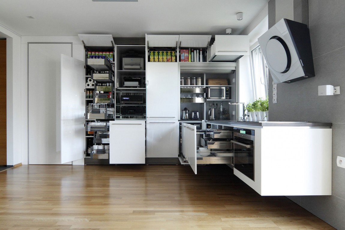 Apartment Kitchen Storage Indoor Plant Inspiration To Transform Your Space