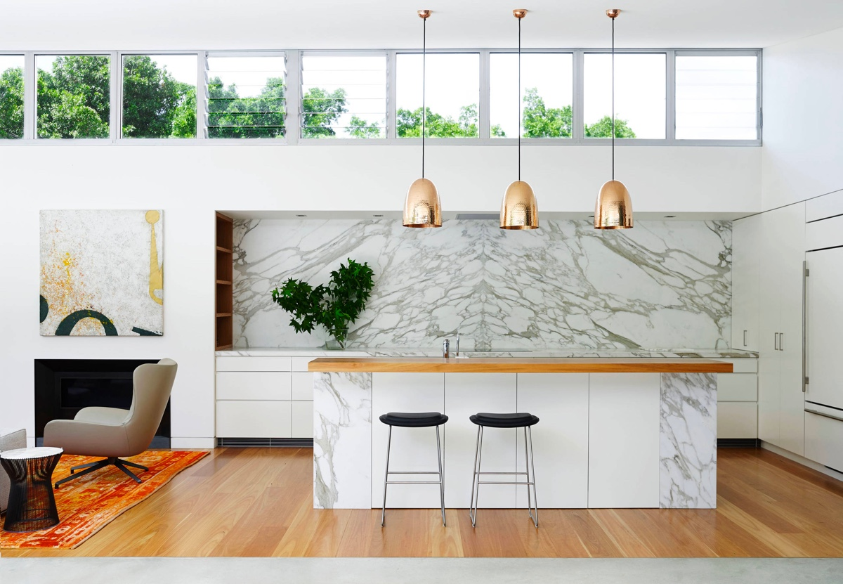 Unique Kitchen Pendant Lights You Can Buy Right Now - Kitchens with pendant lights over island