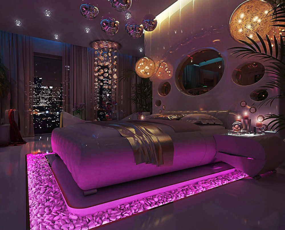 Unique bedroom showcase which one are you for Interior design bedroom pink