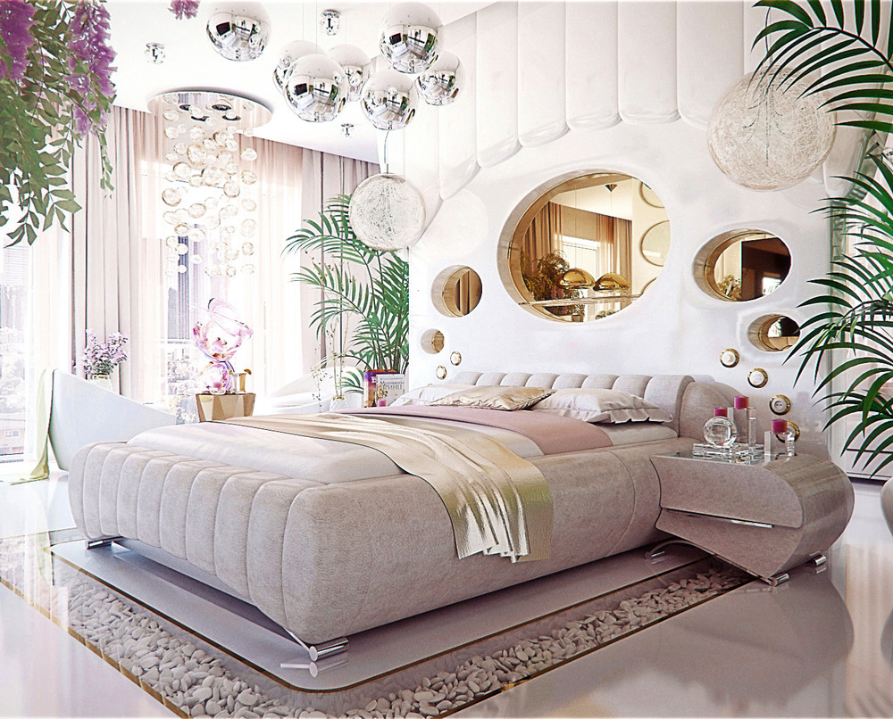 Unique bedroom showcase which one are you - Designer bedrooms for women ...