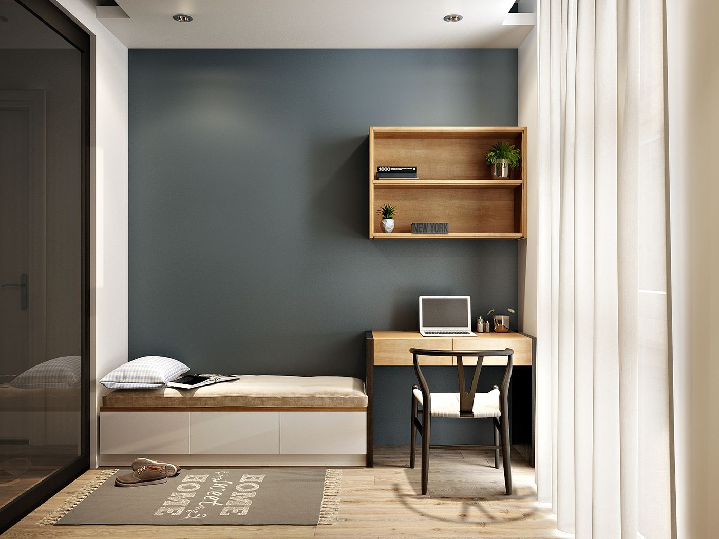 Small Bedroom Design New in Image of Simple