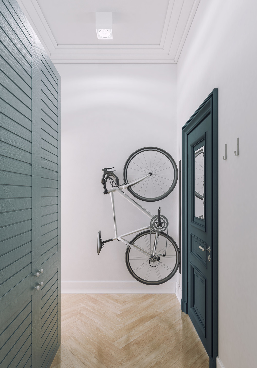 Stylish Bike Rack For Small Apartment - 4 small apartments showcase the flexibility of compact design