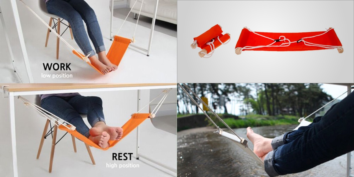 Product Of The Week Feet Hammock For Your Desk