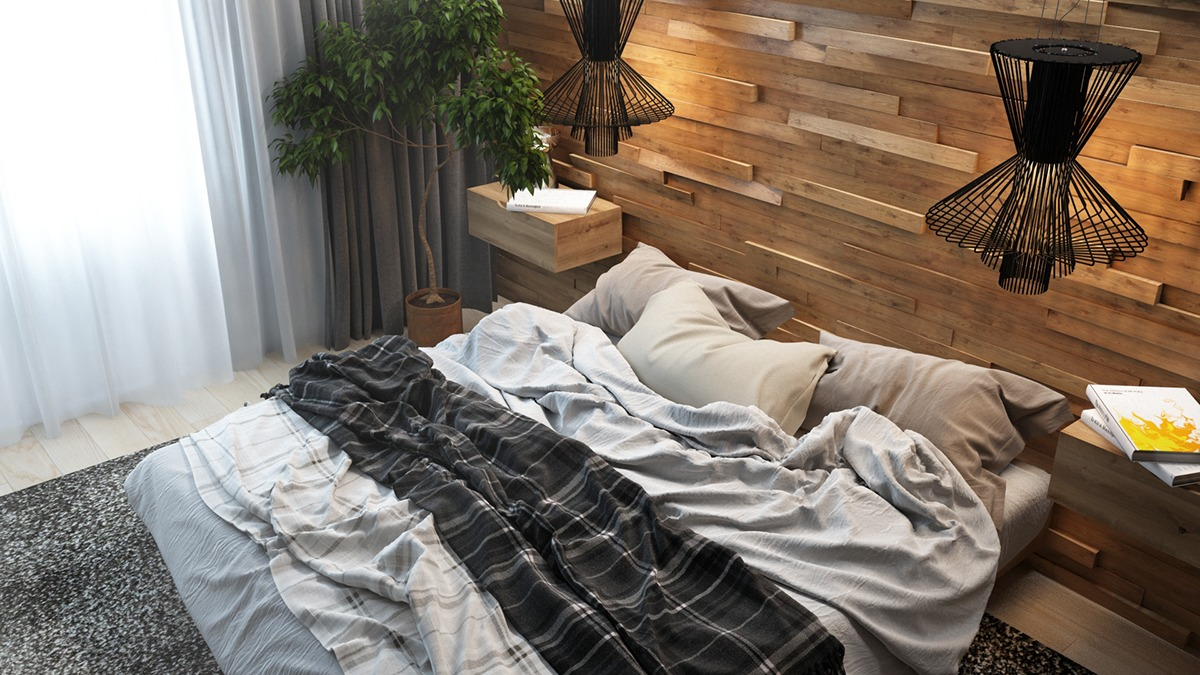 Wood Walls In The Bedroom wood walls in the bedroom Design Inspiration – Wood Walls In The Bedroom amazing bedroom accent wall ideas