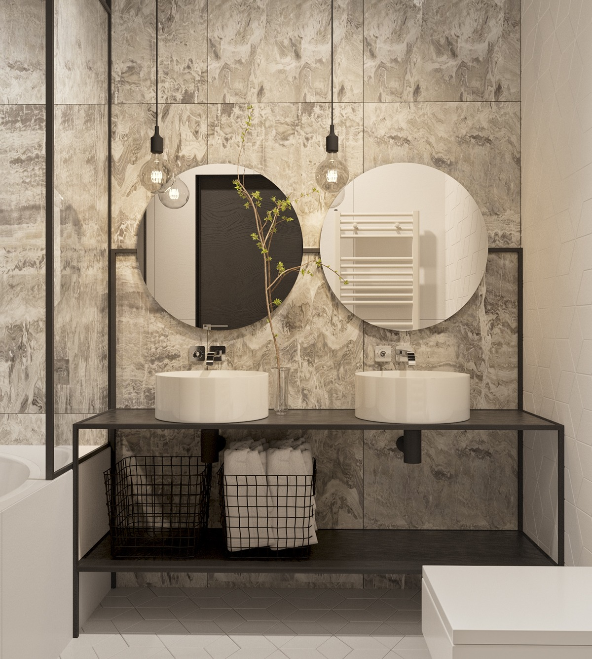 Bathroom Vanity - 6 master suits to inspire you