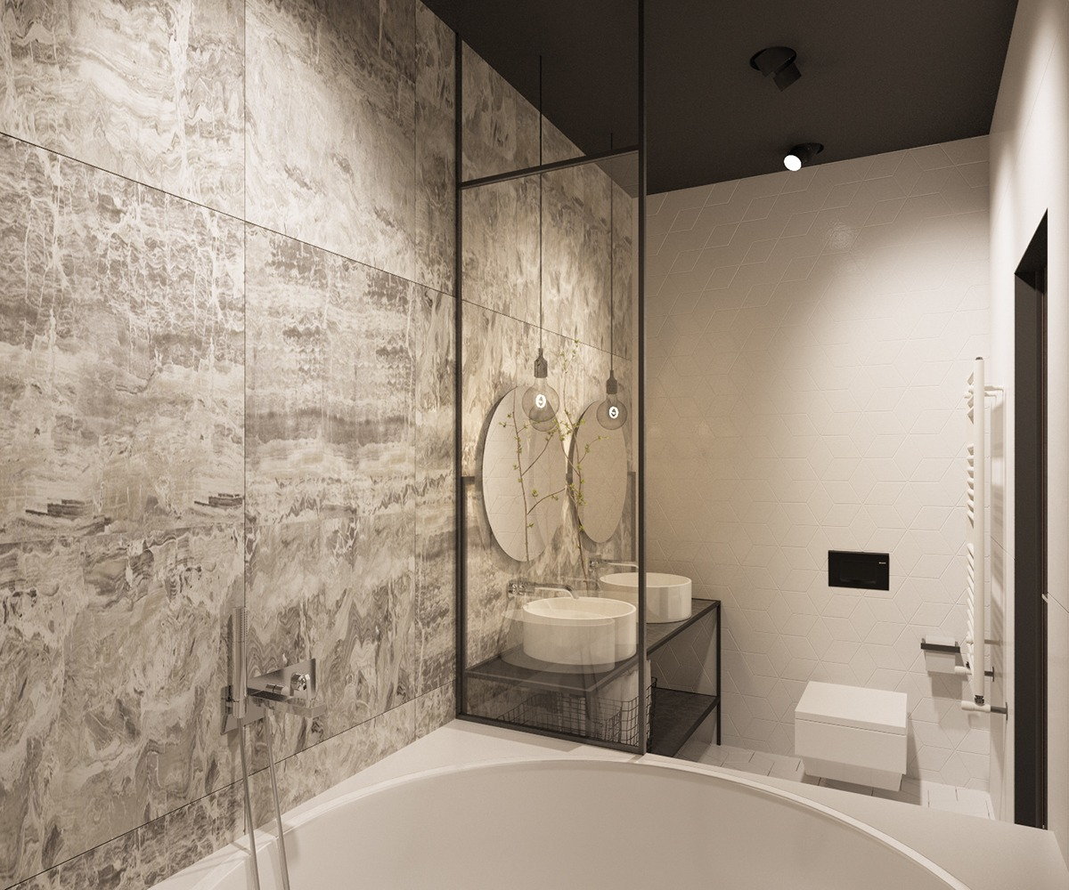 Beautiful Master Bath - 6 master suits to inspire you