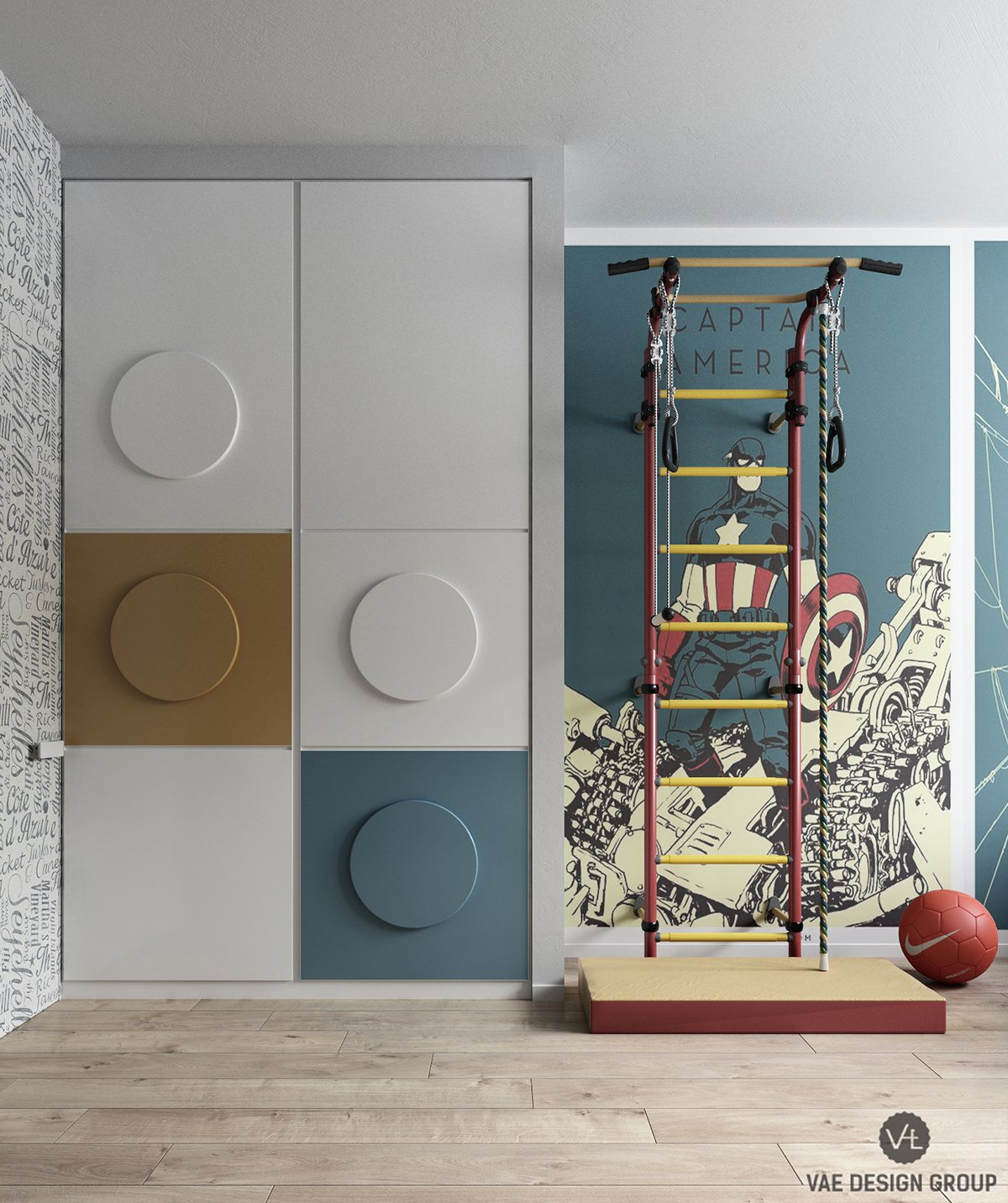 Kids Indoor Jungle Gym Inspiration - Dream big with these imaginative kids bedrooms
