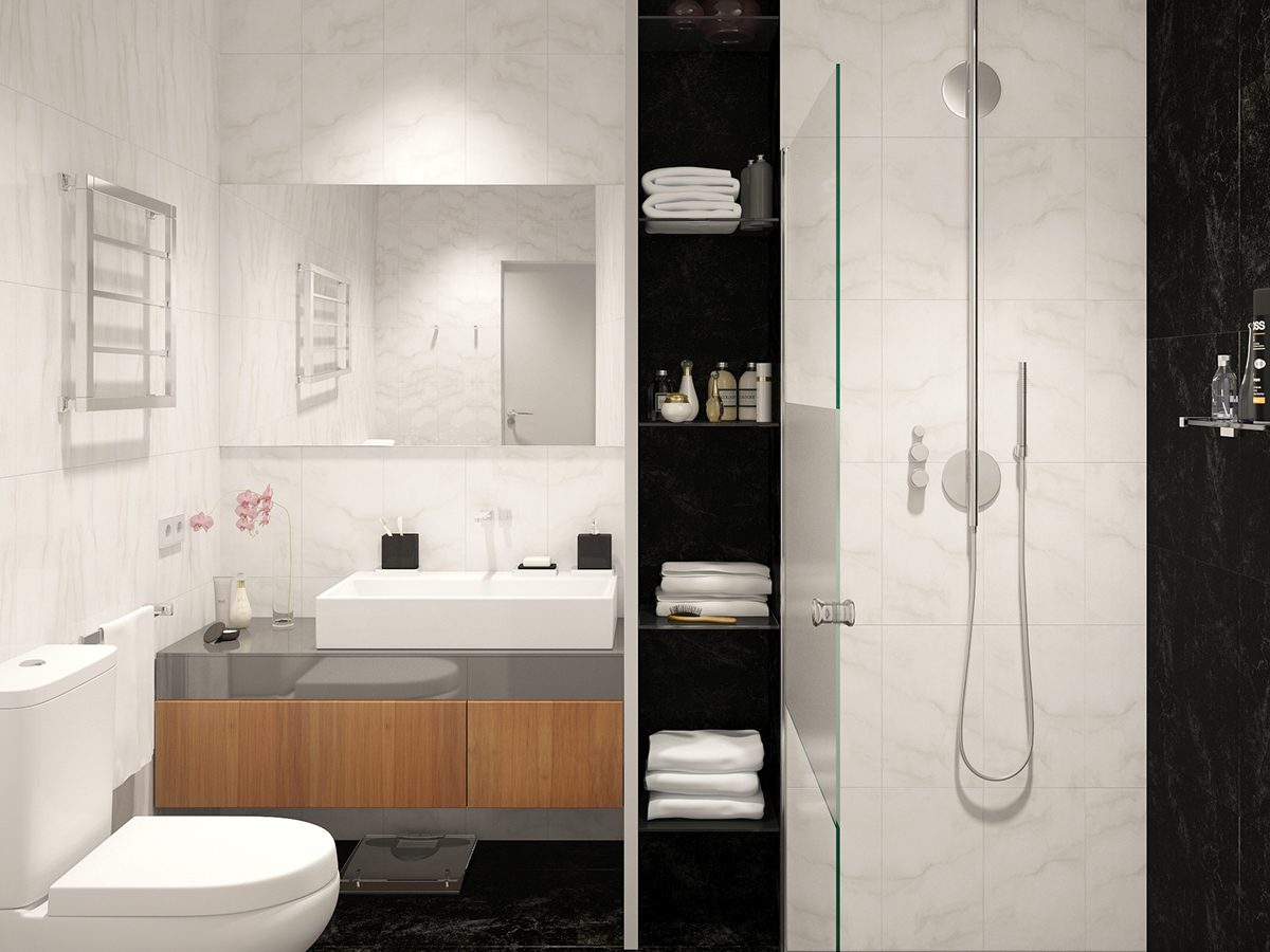 Studio Apartment Bathroom four small studios that explore fun and whimsical styles
