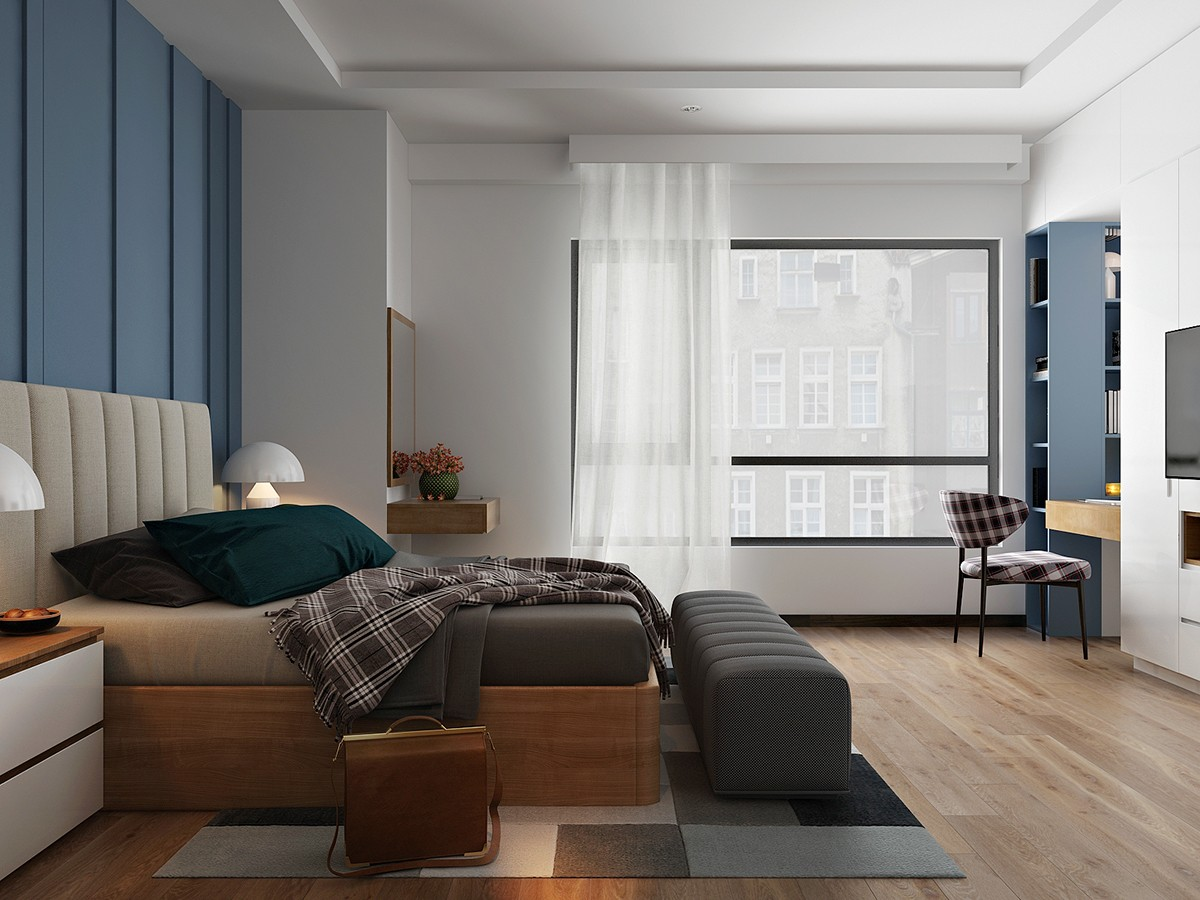 Masculine Master Bedroom - 6 master suits to inspire you