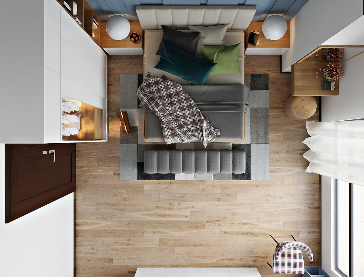 Master Bedroom Design Layout - 6 master suits to inspire you