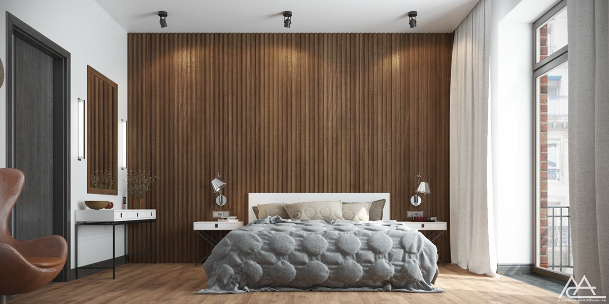 Ways To Make A Statement With Wood Walls In The Bedroom - The natural bedroom