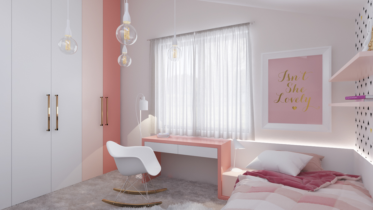Pink Bedroom Palette Inspiration - Dream big with these imaginative kids bedrooms