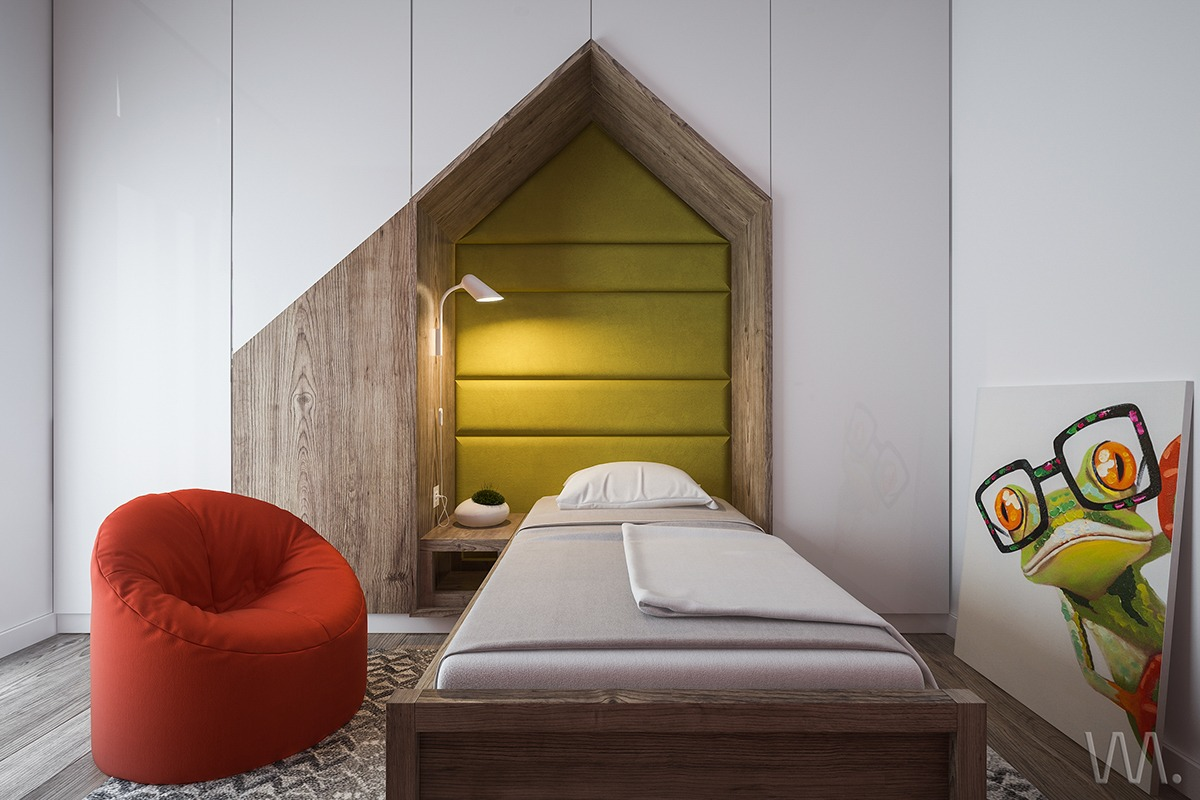 Red And Yellow Green Kids Bedroom - Dream big with these imaginative kids bedrooms