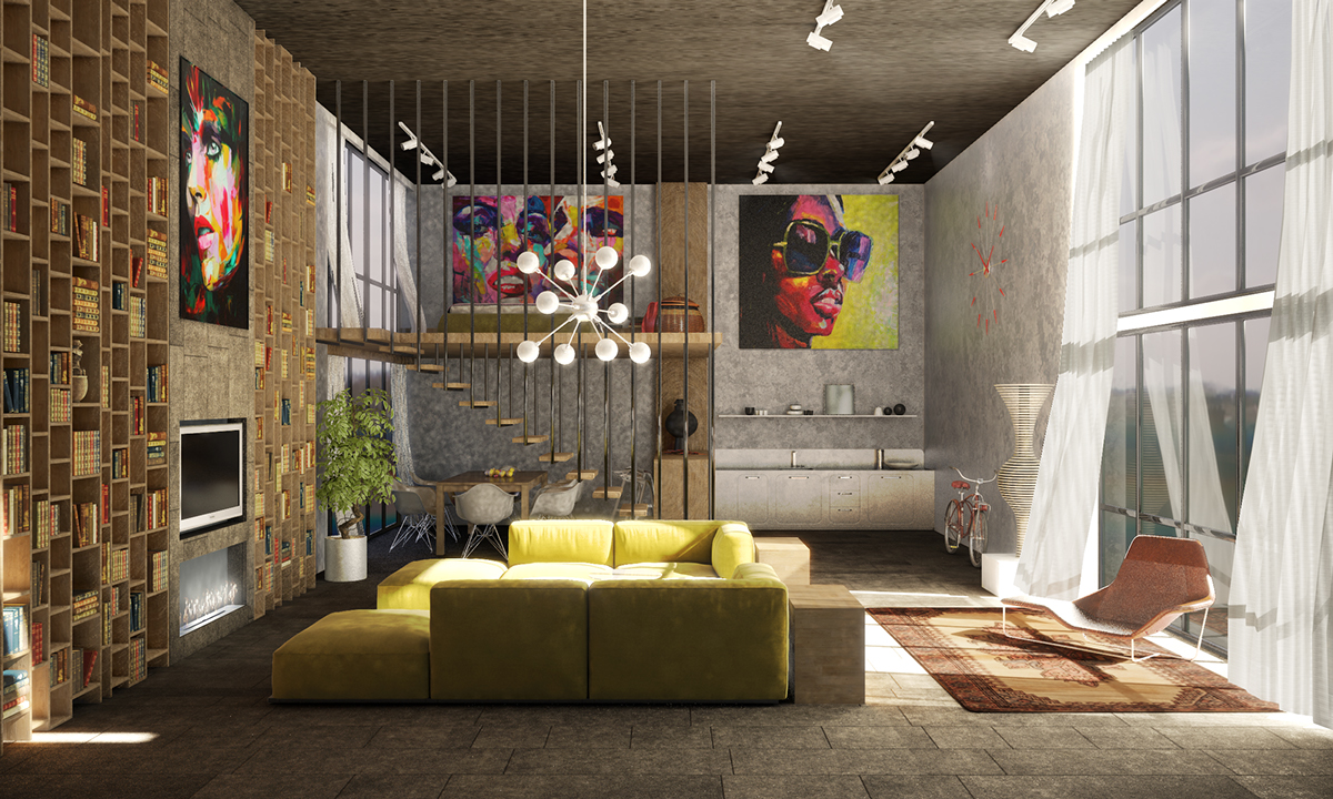 40 incredible lofts that push boundaries for How to design a loft