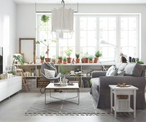 Bright and Cheerful 5 Beautiful Scandinavian Inspired Interiors Living Room Design Ideas Inspiration