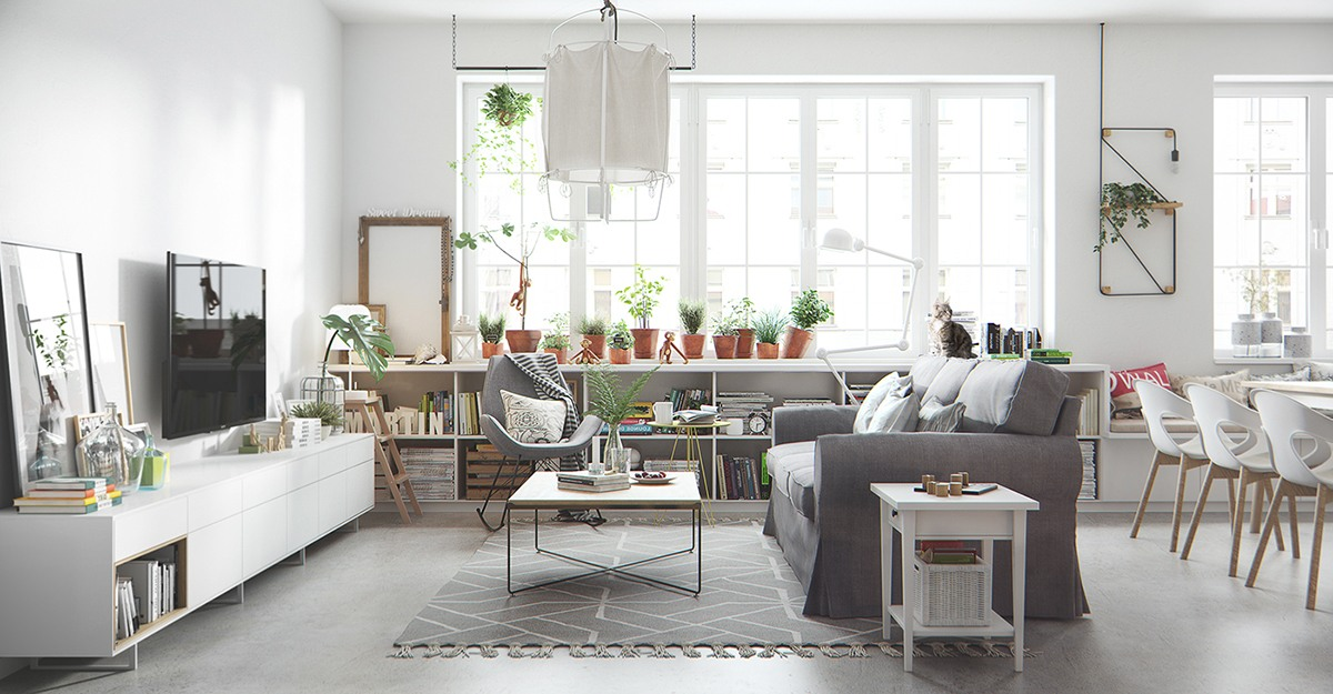 Bright and Cheerful 5 Beautiful Scandinavian Inspired