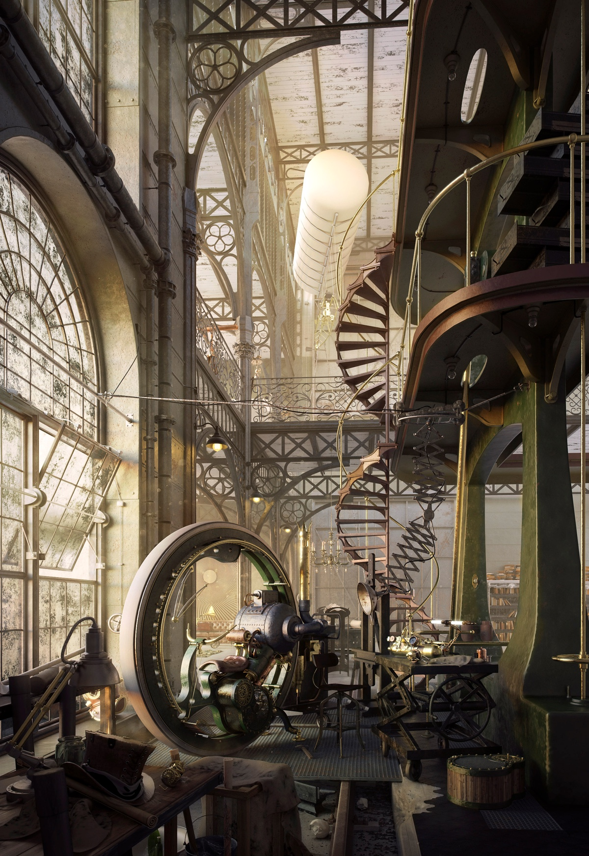 40 incredible lofts that push boundaries for Victorian steampunk decor