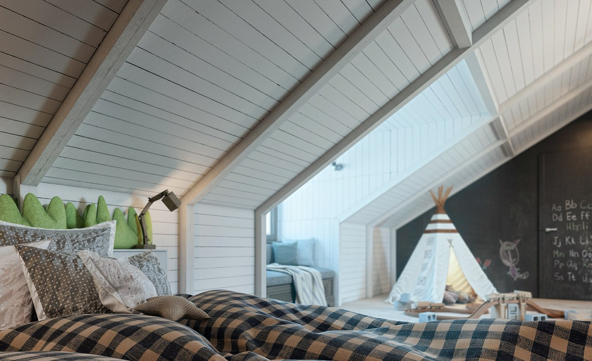 Tipi In Kids Bedroom - Dream big with these imaginative kids bedrooms