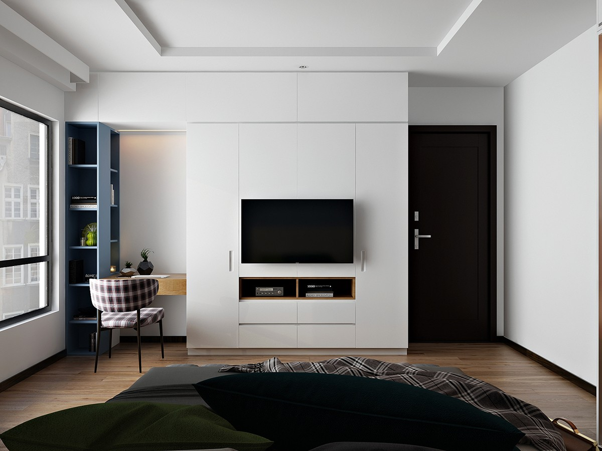 White Wall Design Inspiration - 6 master suits to inspire you