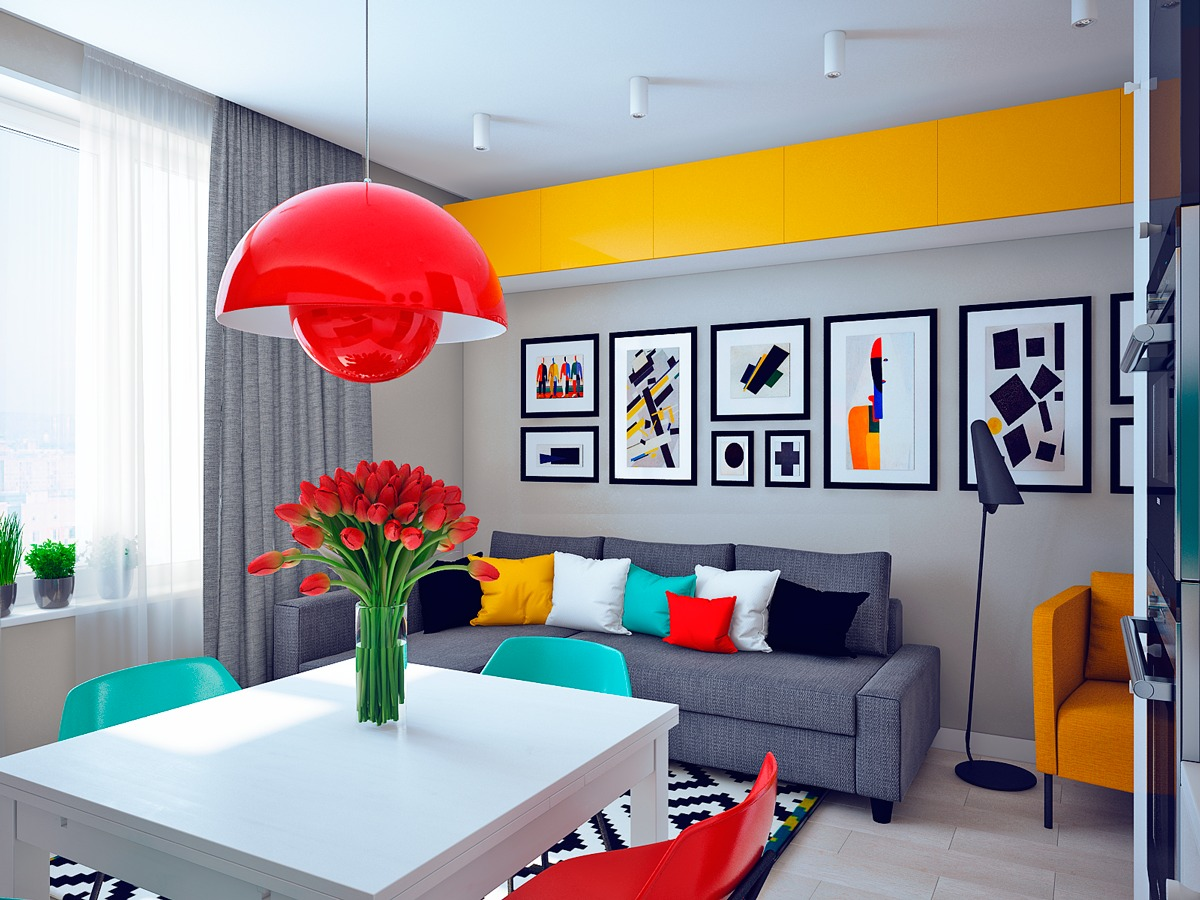 Art gallery style home