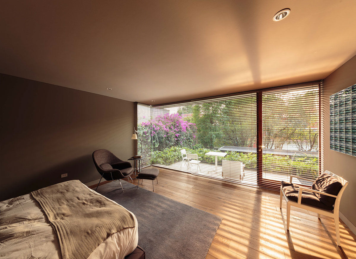 Bedroom With Corner Window - An atmospheric approach to modernist architecture in mexico