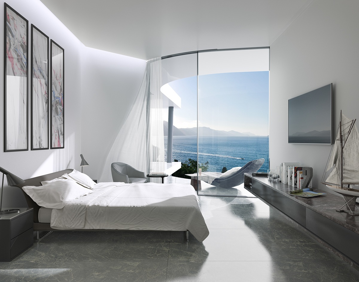 Coastal Bedroom Decor Inspiration - Breathtaking luxury resort villas in bodrum turkey