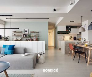 nordic decor inspiration in two colorful homes - Home Design Interior
