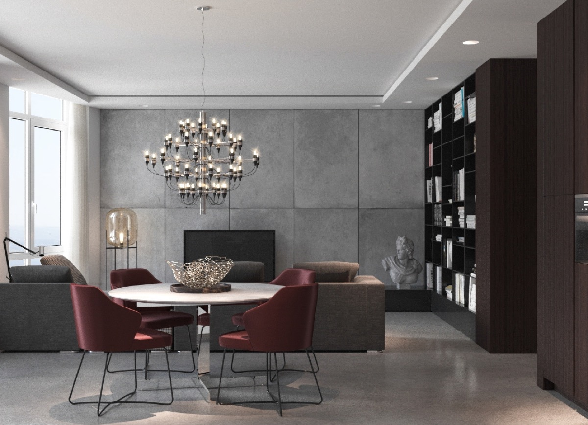 100+ ideas maroon elegant dining rooms sets on www.weboolu