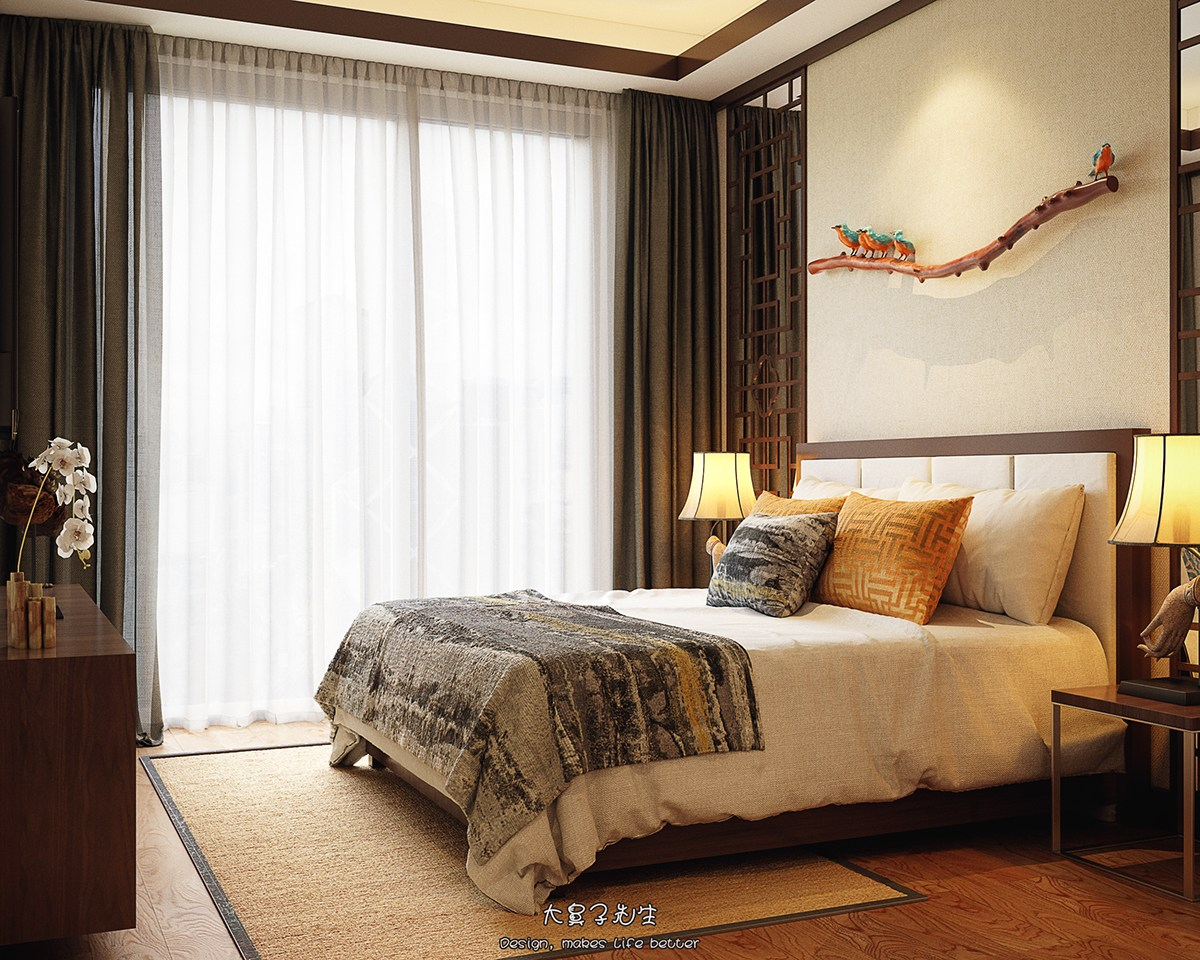 Oriental Bedroom Decor Two Modern Interiors Inspired By Traditional Chinese Decor