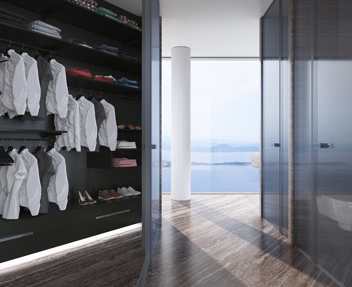Hidden Wardrobe Design Inspiration - Breathtaking luxury resort villas in bodrum turkey