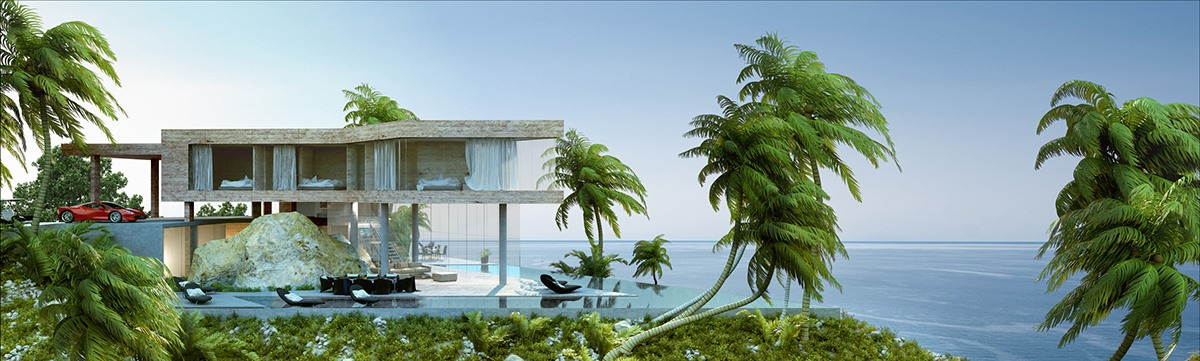 Inspiring Vacation Home Architecture - Breathtaking luxury resort villas in bodrum turkey
