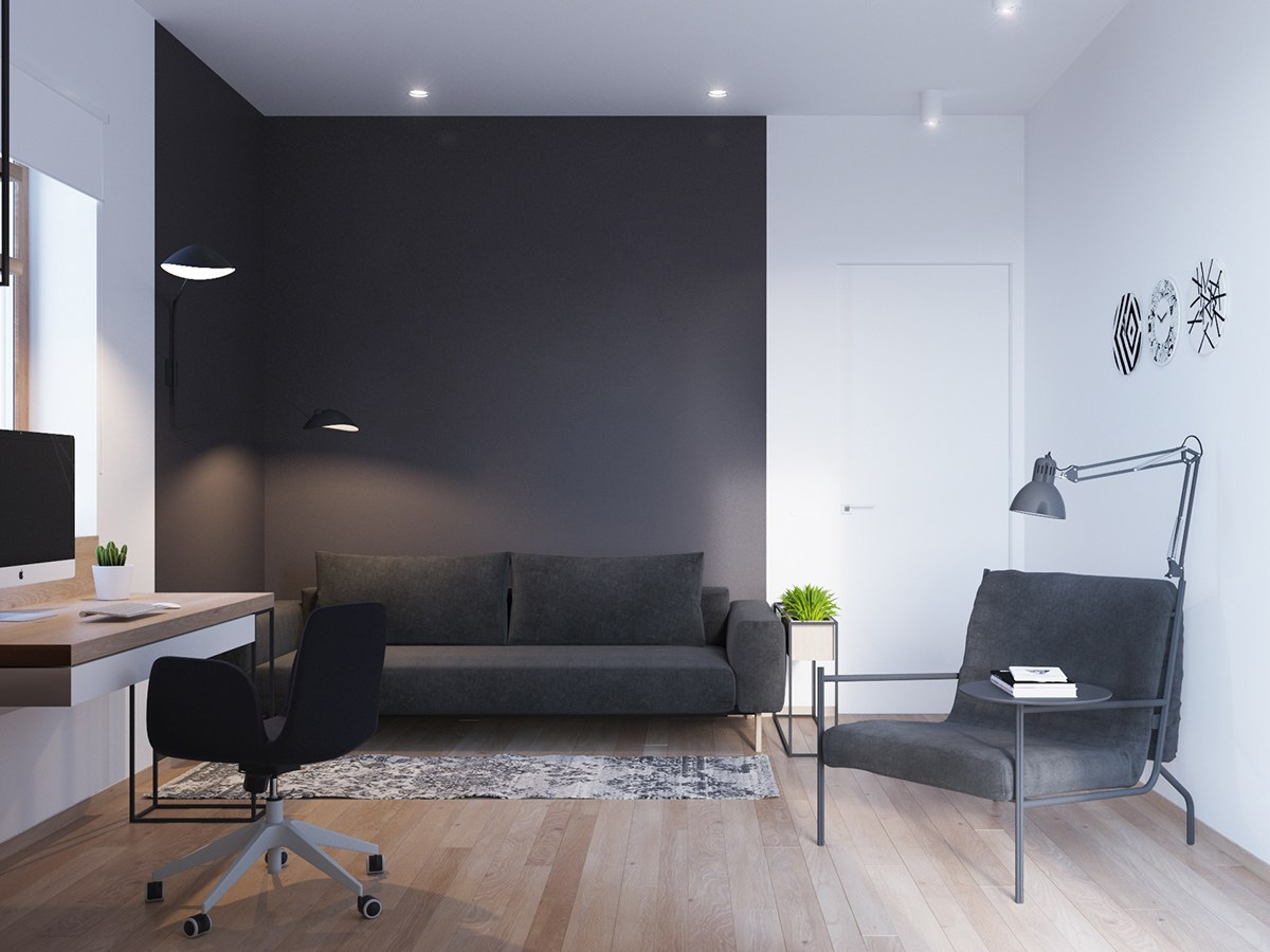A Sleek And Surprising Interior Inspired By Scandinavian ... - photo#25