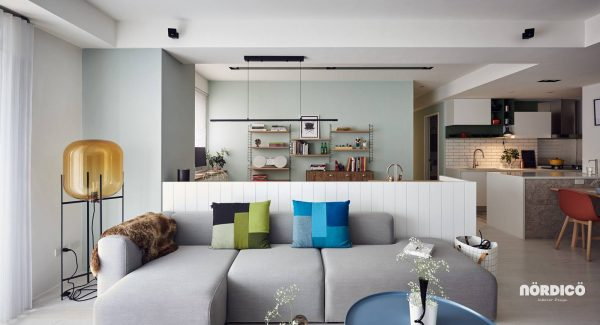 Nordic decor inspiration in two colorful homes - Design interior home with ease ...