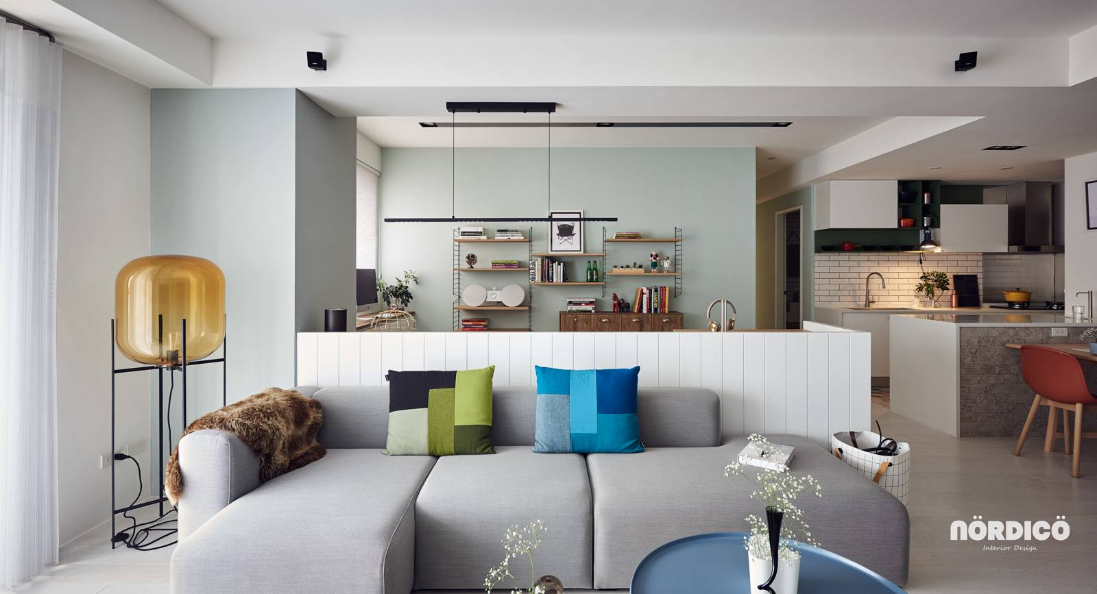 Nordic Interior Style With Bright Fresh Colors - Nordic decor inspiration in two colorful homes