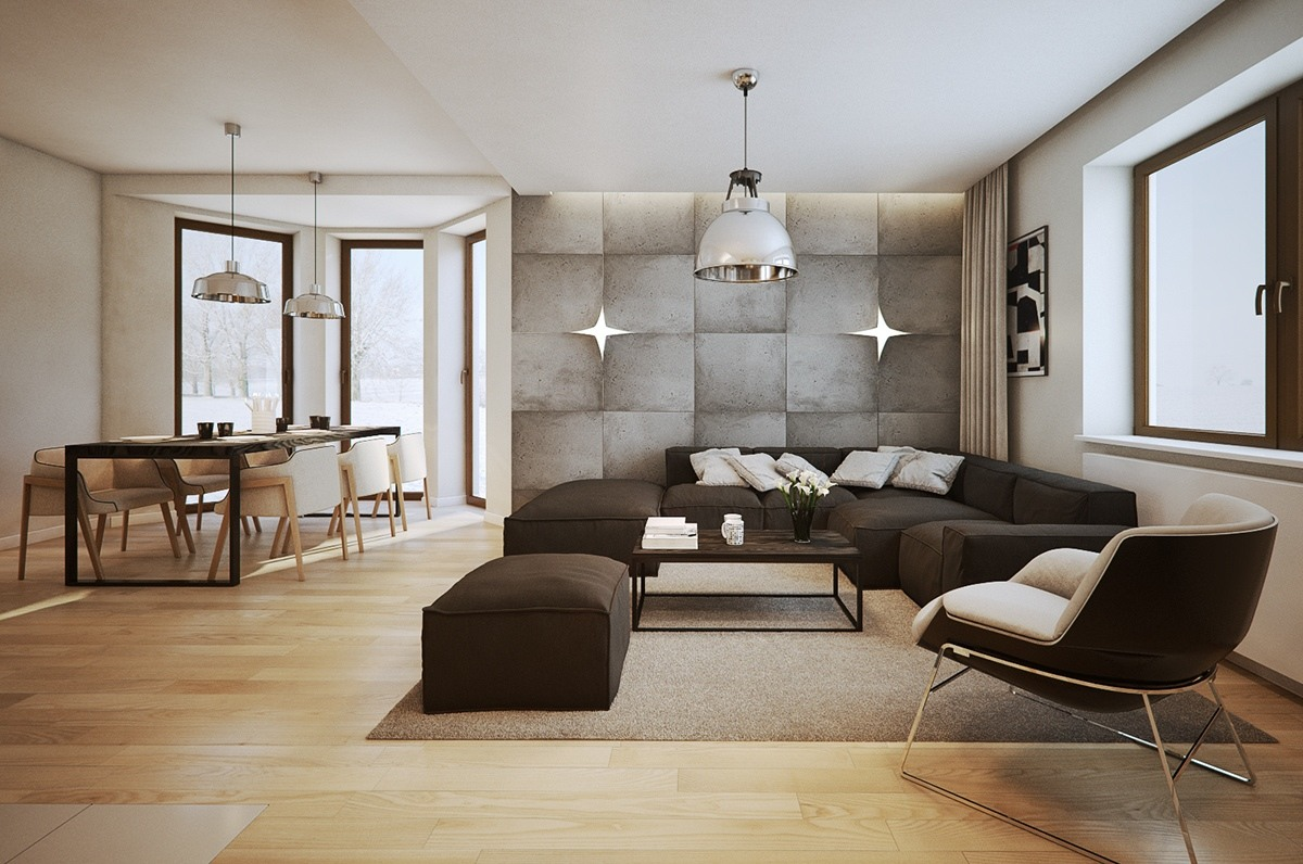 neutral colors interior design minimalist