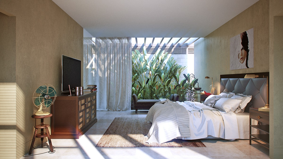 . Bedroom Inspiration Roundup  Cool Unconventional Themes