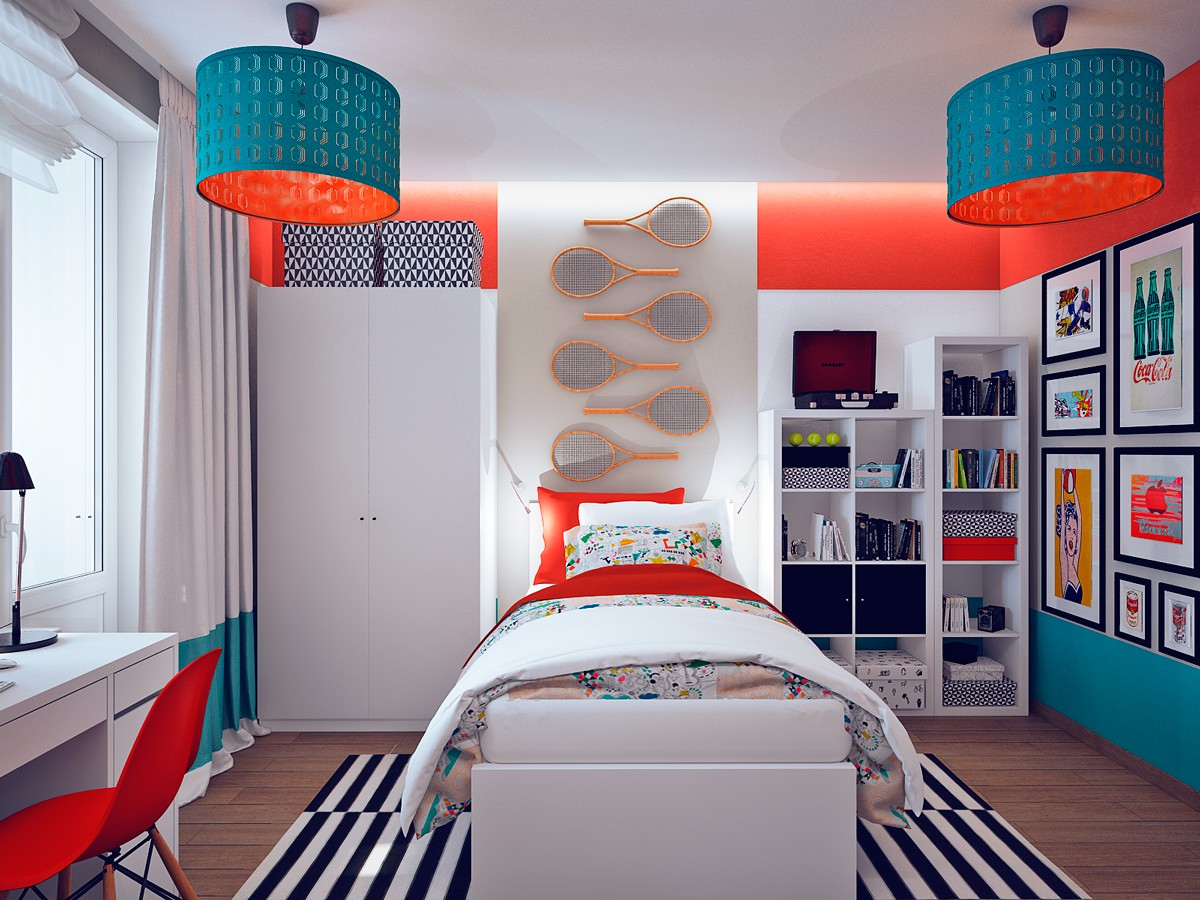 Pop art bedroom