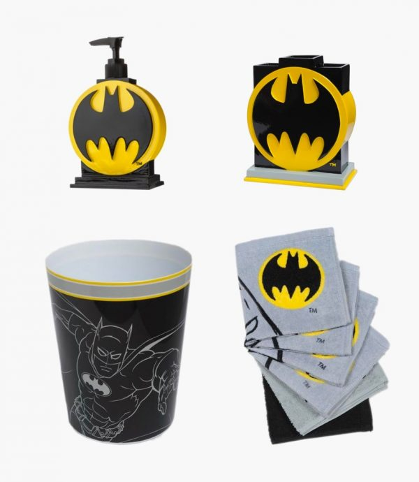 superhero bathroom sets.  Superhero Home Decor For Themed Rooms Parties