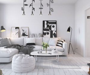 renovated 1920s tenant house with vintage modern appeal 3 soothing scandinavian interiors bright scandinavian decor in 3 small one bedroom apartments - Interior Home Design