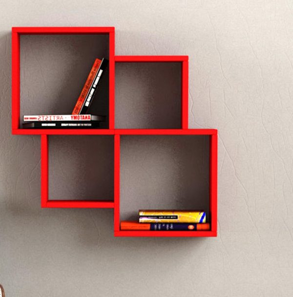 Modern Wall Shelving 31 unique wall shelves that make storage look beautiful