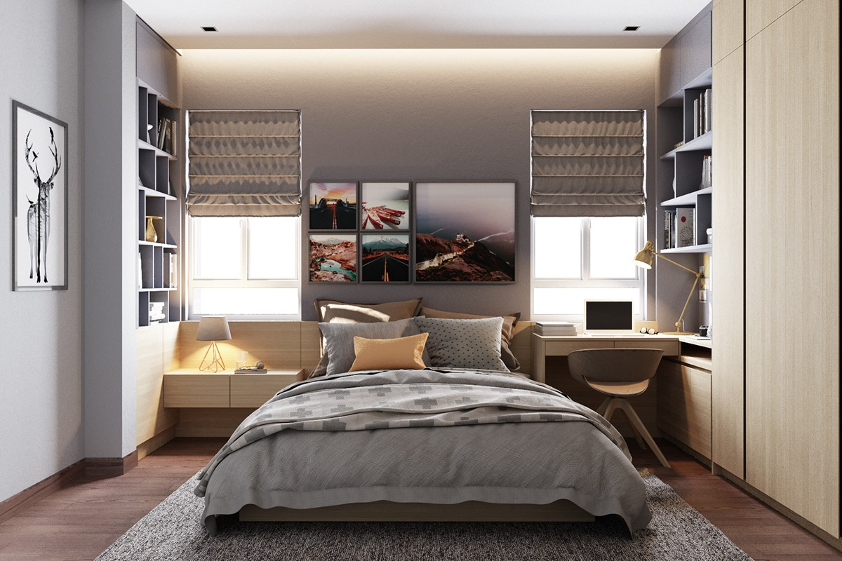 Grey bedrooms ideas to rock a great grey theme for Great ideas for small bedrooms
