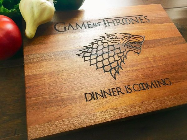 Alt Dinner is Coming Cutting Board