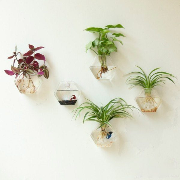 30 unique hanging planters to help you go green - Vase decoration interieur ...