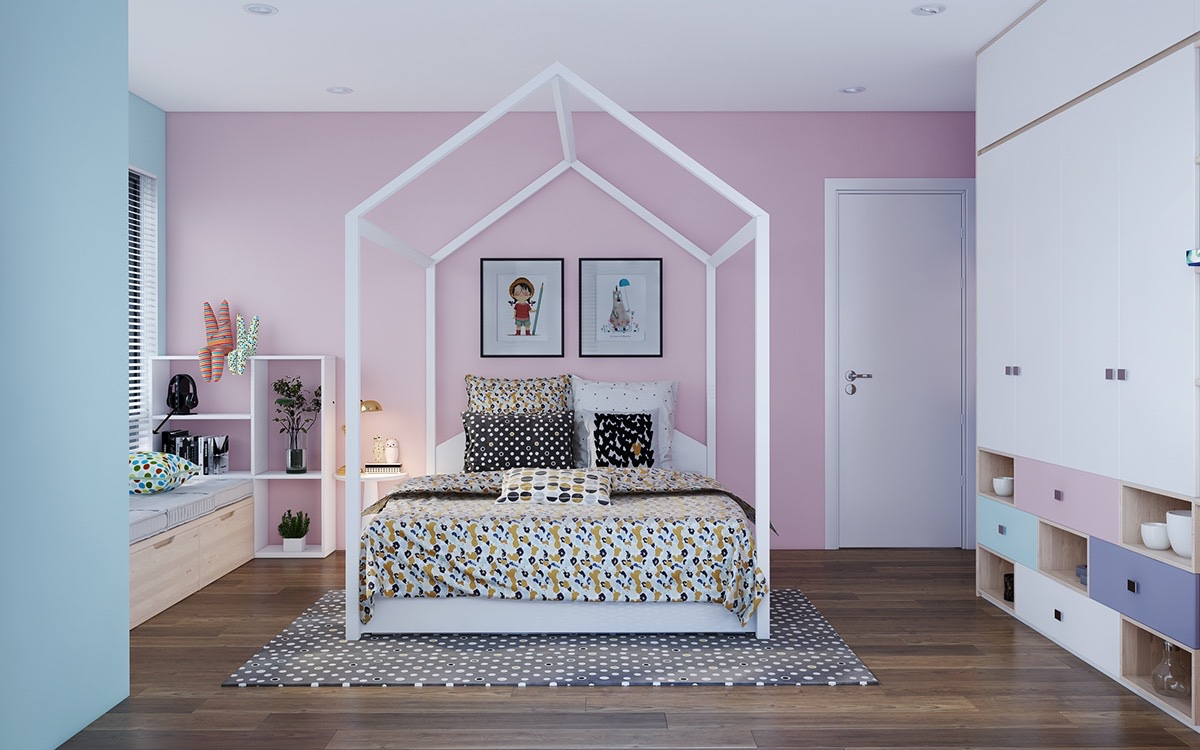 inspiring modern bedrooms for kids colorful quirky and fun rh home designing com