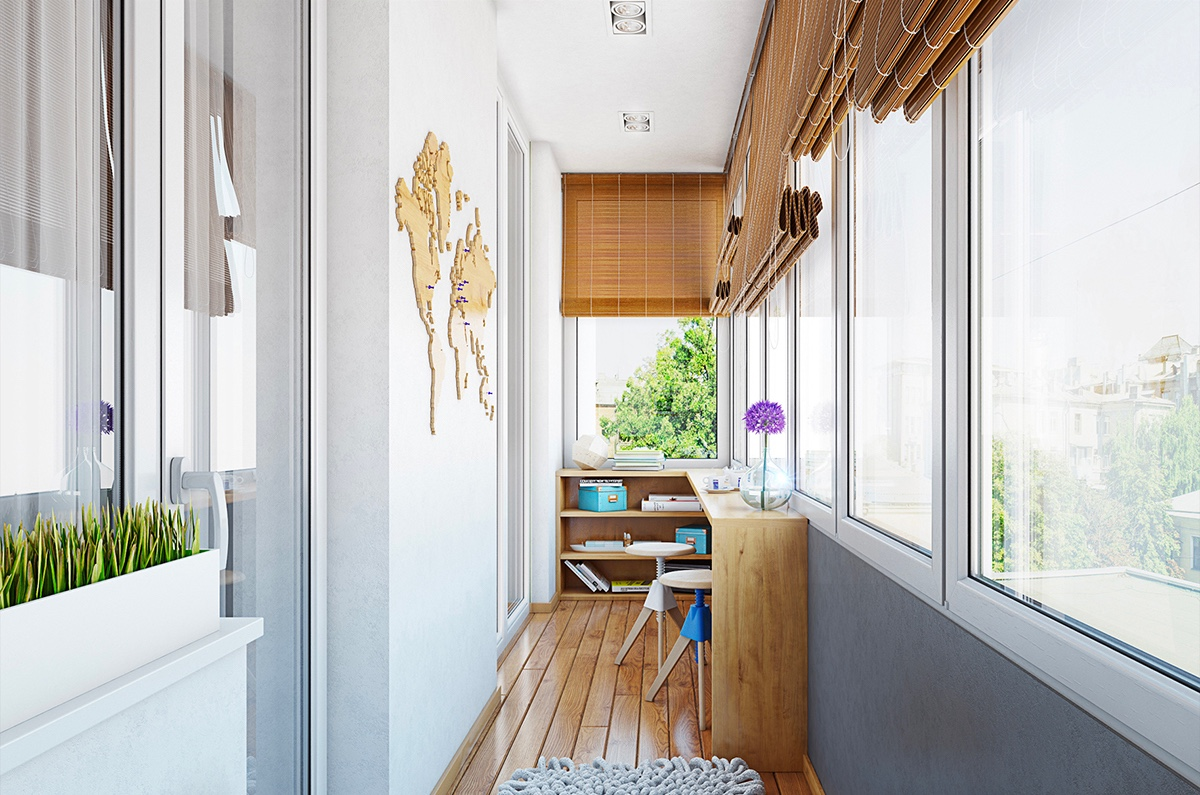 2 gorgeous single story homes with 80 square meter floor for Narrow window